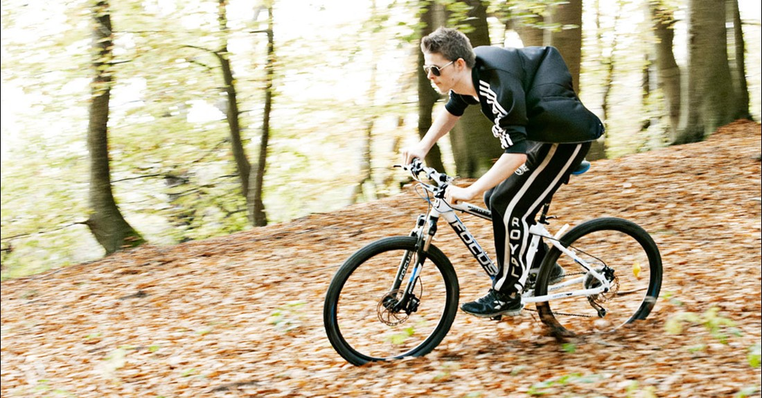 Mountainbike - Opholdssted for unge